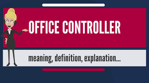what is office controller what does office controller mean