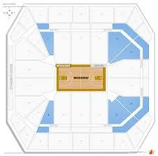 Mizzou Map Mizzou Arena Missouri Seating Guide Rateyourseats Com