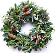 fresh christmas wreaths christmas door wreaths outdoor