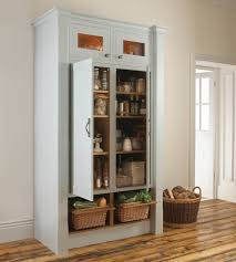 Kitchen Storage Cabinets Free Standing Kitchen Long Kitchen Cabinets With Corner Pantry In Kitchen Also