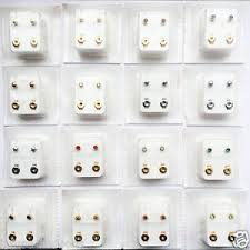 ear piercing studs studex brand new original ear piercing studs earrings gold silver