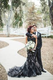 and black wedding black wedding gown pretty inspiration fairy events