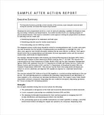 after report template after report template template business
