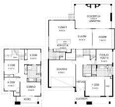 bi level floor plans with attached garage plans for decks elevated