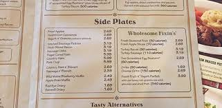 cracker barrel menu with price u0026 nutrition facts sweet additions