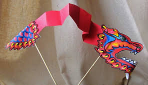 paper dragons paper crafts