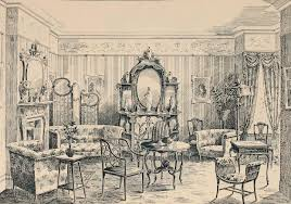 Interior House Drawing Interior Design Edwardian Promenade