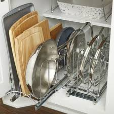 lynk chrome pull out cabinet drawers lynk chrome pull out lid holder chrome container store and