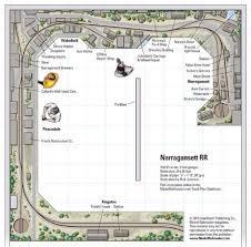Floor Plan Database Narragansett Rr From Track Plan Database Modelrailroader Com