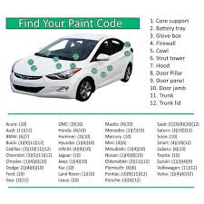 Automotive Paint Code Location Automotive Touch Up Paint Kit Automotive Spray Paint From Era Paints