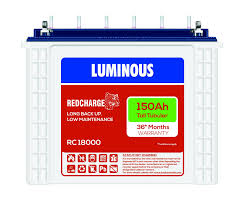 Luminous Red Charge 150AH Tall Tubular Battery line