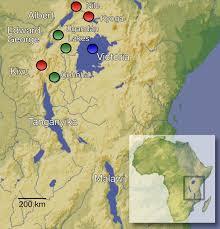 East Africa Map Pleistocene Desiccation In East Africa Bottlenecked But Did Not