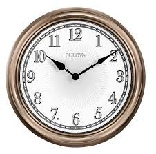 the 24 outdoor lighted atomic clock bulova c4826 light time large indoor outdoor lighted wall clock