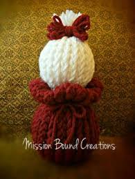 loom knit how to loom knit ornaments or a decorative on 12