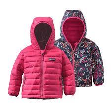 patagonia baby reversible sweater hoody
