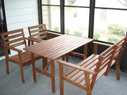 wooden patio table and chairs ikea patio table set furniture conversation sets with regard to