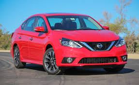 red nissan car 2016 nissan sentra first drive u2013 review u2013 car and driver