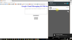android gcm android tutorial push notification using cloud messaging