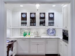 glass kitchen cabinet kitchen decoration
