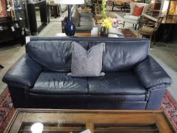 Leather Blue Sofa Blue Velvet Loccie Better Homes Gardens Ideas