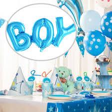 foil balloons boy girl connection letter foil balloons children party decoration