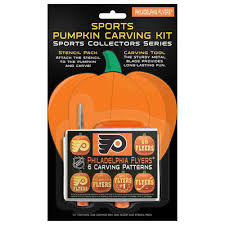 Pumpkin Carving Kits Philadelphia Flyers Pumpkin Carving Kit Shop Nhl Com