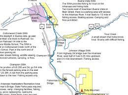 Arkansas Map Us Troutgear Com Digital Map Guide Arkansas River
