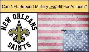 New Orleans Flag Nfl Team Attacks Disabled Veteran Who Defended Us Flag Anthem