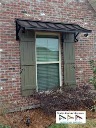 Outdoor Window Awnings And Canopies The Concave Copper Awning Window Trellis Pinterest Concave