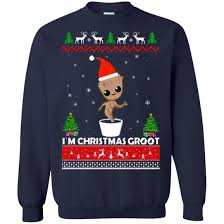 galaxy sweater guardians of the galaxy i m groot sweater shirt
