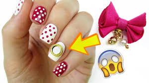 detachable nail bows very easy nail art designs u0026 diy