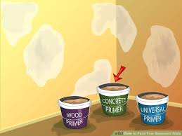 3 ways to paint your basement walls wikihow