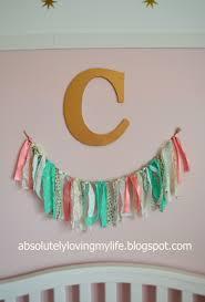 Fabric For Nursery Curtains Loving Whimsical Fabric Banner For Nursery