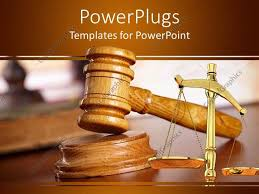 ppt templates for justice powerpoint template a judges wooden gravel and a justice balance