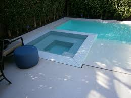 Infinity Pool Backyard by Infinity Mirror Negative Edge Pool In Small Backyard