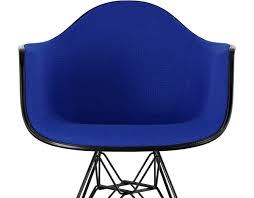 Upholstered Armchair Eames Upholstered Armchair With Wire Base Hivemodern Com