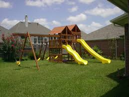 gemini playset diy wood fort and swingset plans picture on