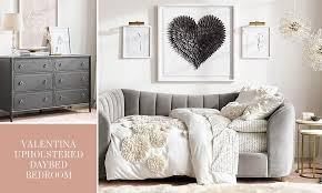 valentina upholstered daybed bedroom rh teen