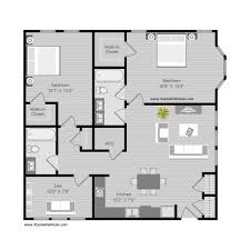 floor plan illustration style 04