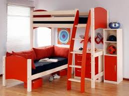 childrens bunk beds with desk and futon latitudebrowser