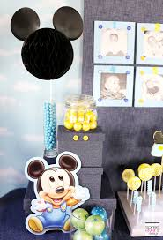 1st birthday party ideas for mickey mouse birthday party ideas soiree event design