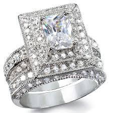 wedding ring big 2ct wedding ring princess cut magnificent big wedding rings