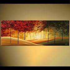 original abstract modern landscape made original abstract landscape tree painting on canvas contemporary