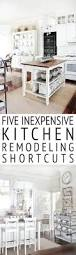 five inexpensive kitchen remodeling shortcuts thistlewood farm