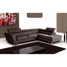 chocolate sectional sofa sparta leather sectional sofa in chocolate brown j m