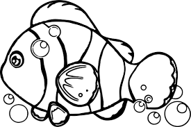 underwater fish coloring wecoloringpage