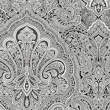 black and white wallpaper ebay gorgeous black and white paisley wallpaper paisley wallpaper