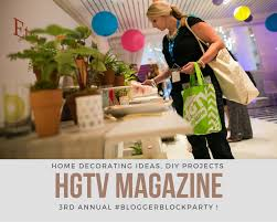 hgtv blogger block party for the best in diy and home decor
