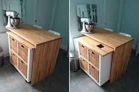 comptoir de cuisine ikea transformations de meubles ikea pour la cuisine c est ça la vie