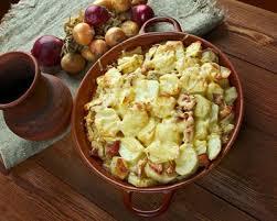 cuisine az tartiflette recette tartiflette franc comtoise